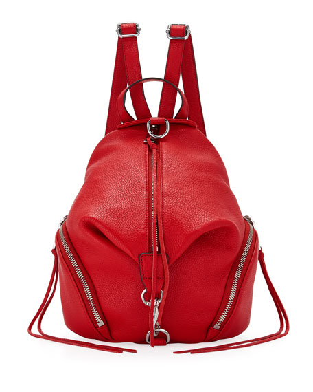 Rebecca Minkoff Julian Convertible Mini Backpack, Red