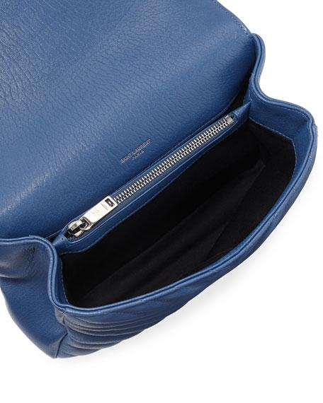 Monogram College Medium V-Flap Crossbody Bag