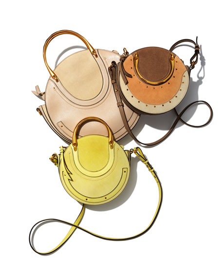 Pixie Medium Round Shoulder Bag