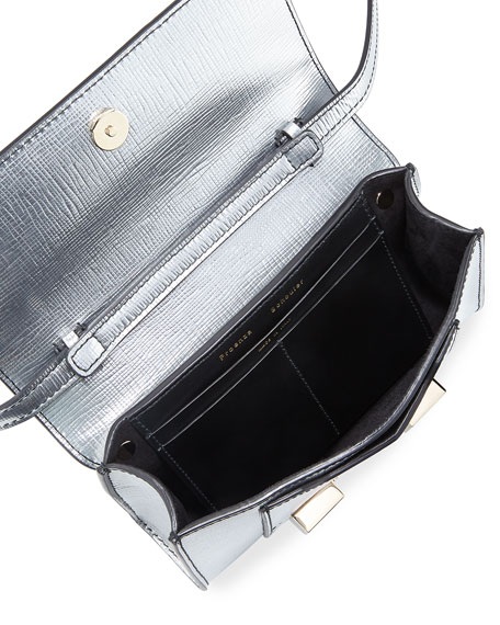 PS11 Metallic Leather Wallet with Strap