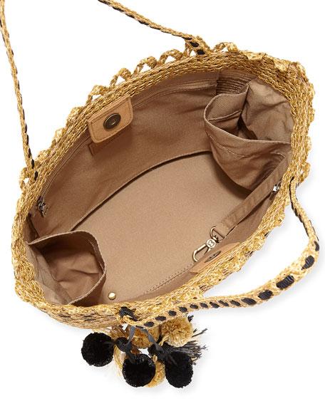 Squishee® Mita Tassel Tote Bag