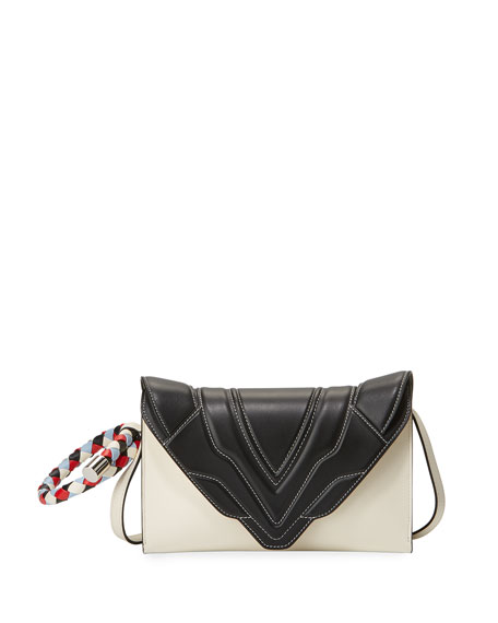Elena Ghisellini Felina Mignon Crossbody Bag with Ring