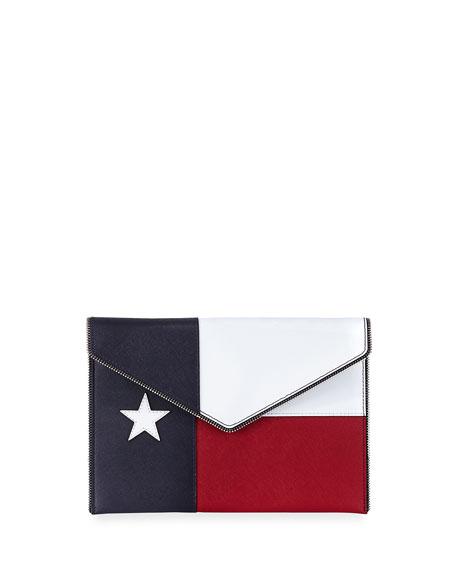 Rebecca Minkoff Texas Leo Envelope Clutch Bag