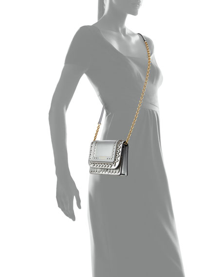 Hampshire Broguing Metallic Crossbody Bag