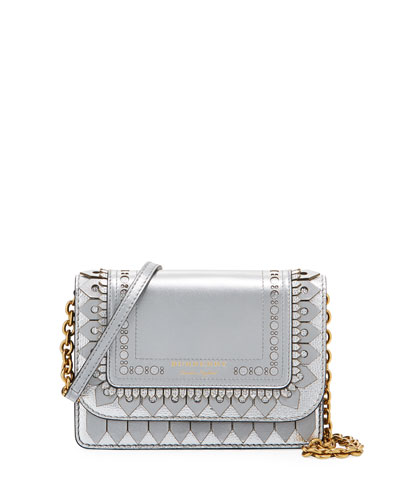 Hampshire Broguing Metallic Crossbody Bag