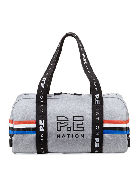 PE Nation Final Round Waxed Duffle Bag
