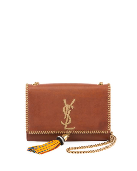 Kate Monogram YSL Small Whipstitch Crossbody Bag