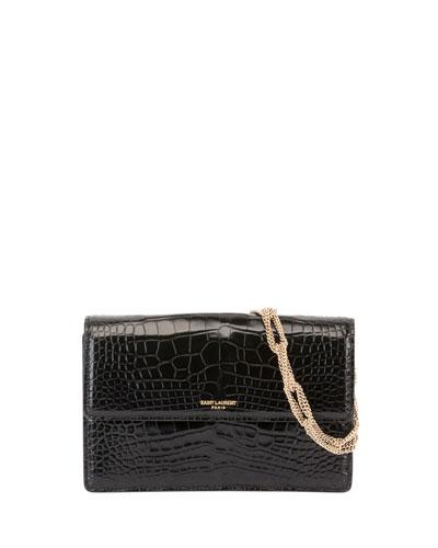 Pochette Small Alligator Shoulder Bag
