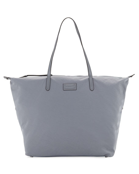Washed Nylon Tote Bag