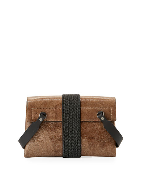 Stardust Leather Crossbody Bag