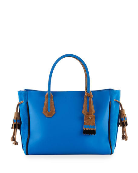 Longchamp Penelope Massai Two-Tone Medium Tote Bag