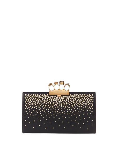 Alexander McQueen Knuckle Flat Pouch Clutch Bag