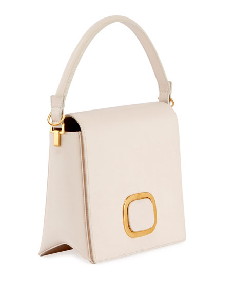 Square Leather Day Bag