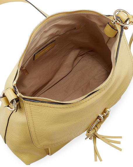 Joan Small Leather Satchel Bag