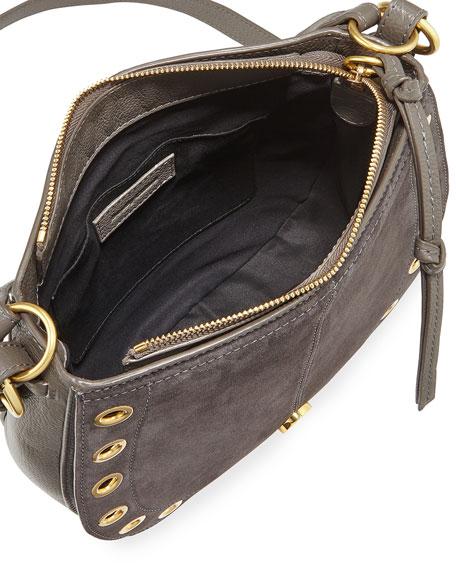 Kriss Small Grommet Hobo Bag