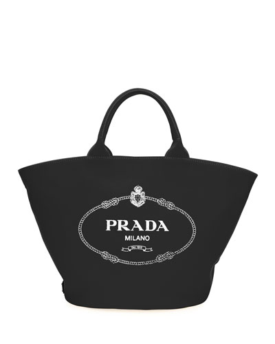 Logo Canapa Fabric Tote Bag