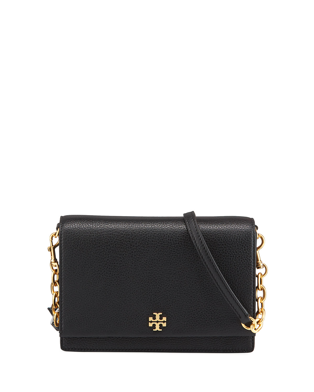 302573d2170 Tory Burch Georgia Leather Flap Shoulder Bag
