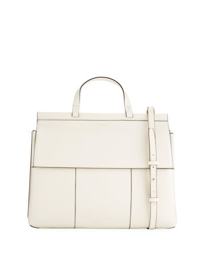 Oversized Block-T Satchel Bag