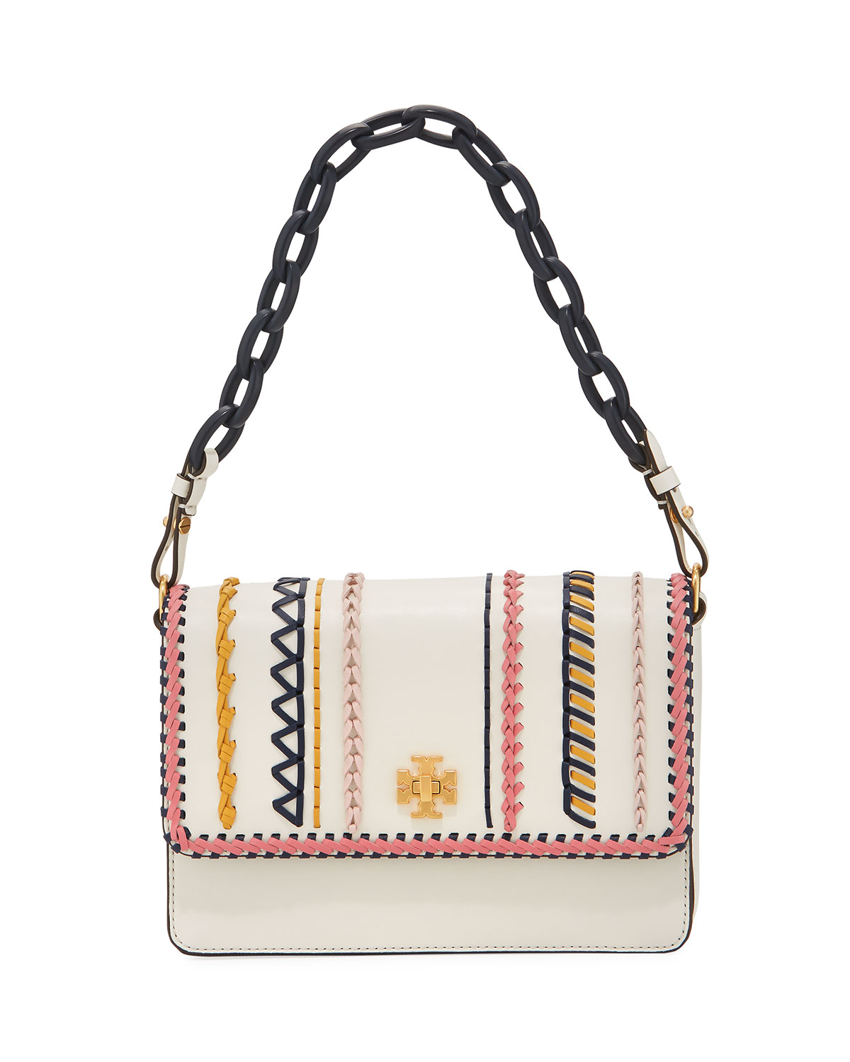 cb012f81cd8d1 Tory Burch Kira Whip-Stitch Shoulder Bag