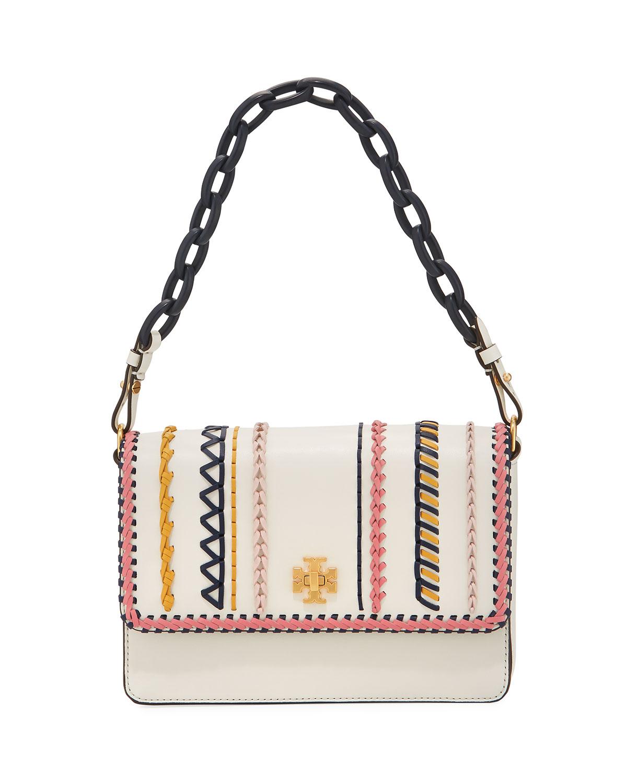 9e120e5c150fc Tory Burch Kira Whip-Stitch Shoulder Bag