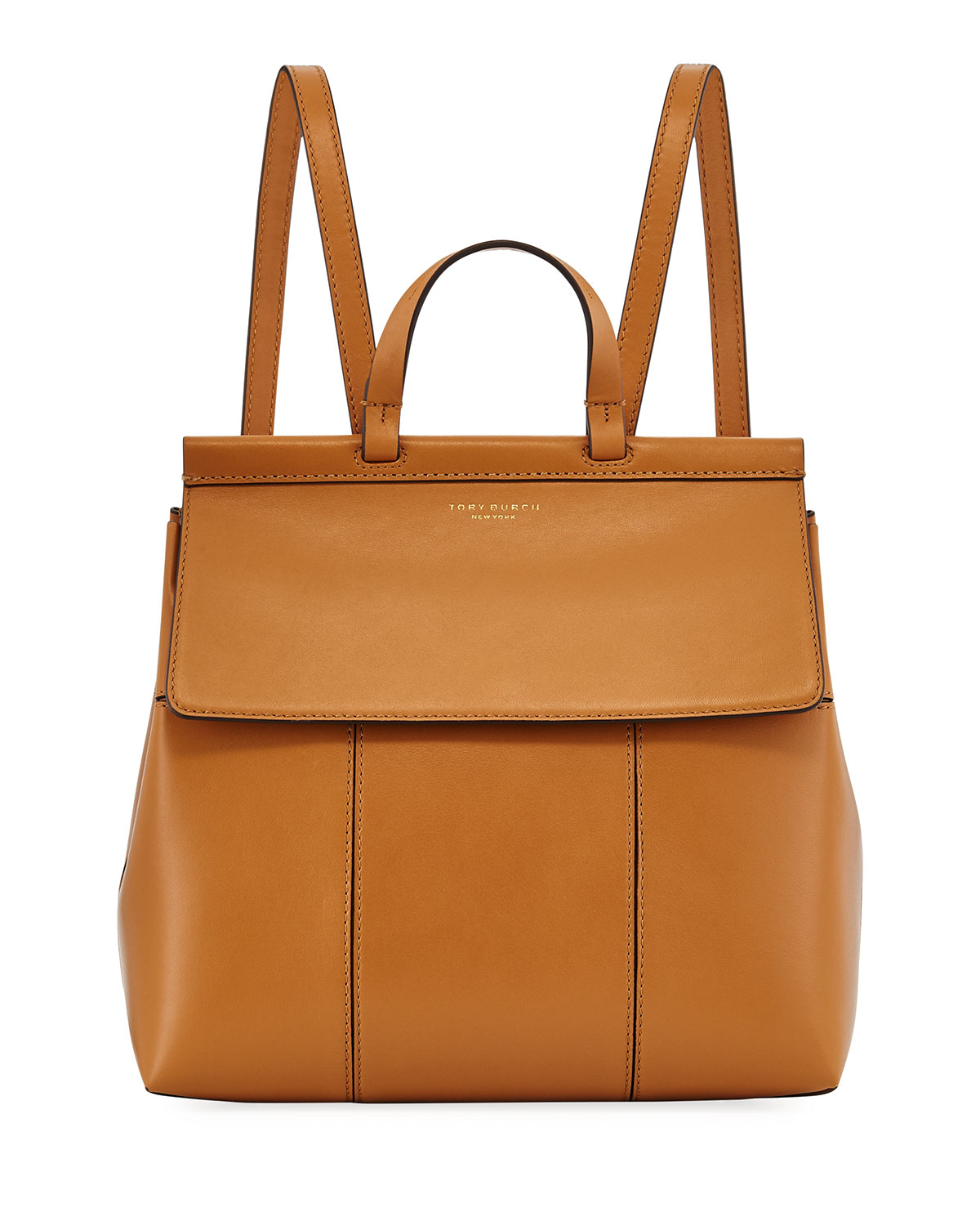 Tory Burch Block T Leather Backpack Neiman Marcus