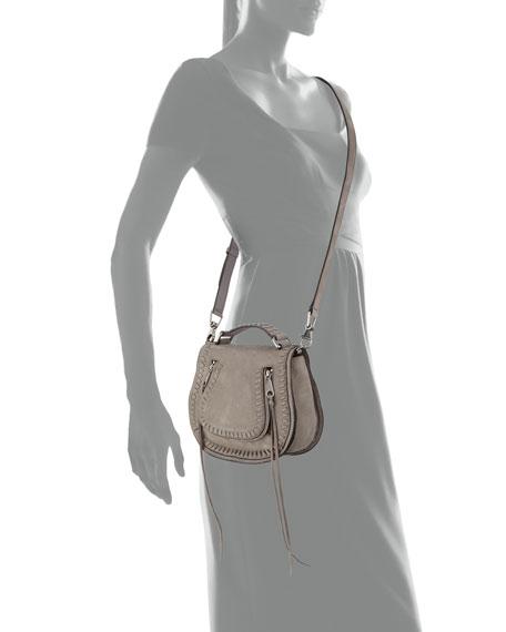 Small Vanity Whipstitch Saddle Bag