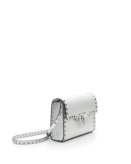 Rockstud Medium Leather Shoulder Bag