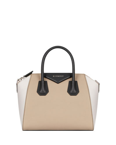 Antigona Small Colorblock Satchel Bag