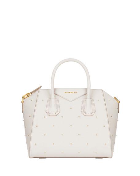 Antigona Small Studded Satchel Bag
