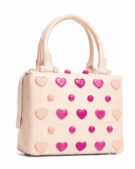 Small Heart Cube Crossbody Bag