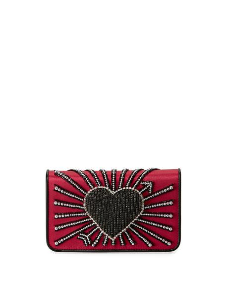 Les Petits Joueurs Ginny Heart Cupid Clutch Bag