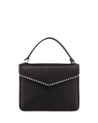 Shoulder Bag for Women On Sale, Black, Suede leather, 2017, one size Les Petits Joueurs