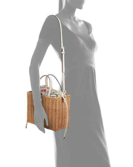 sam woven straw crossbody bag