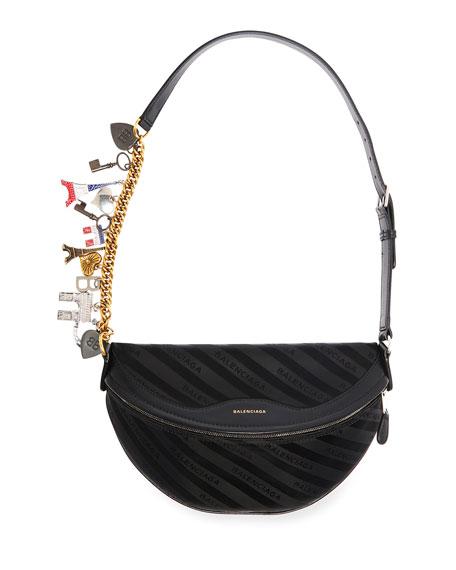 31fc7edf0ecb Balenciaga Souvenir XS Belt Bag with Charms