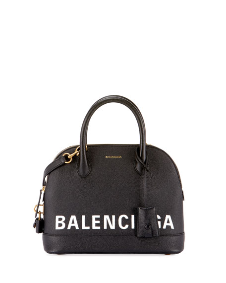 Balenciaga Ville Leather Top Handle Bag