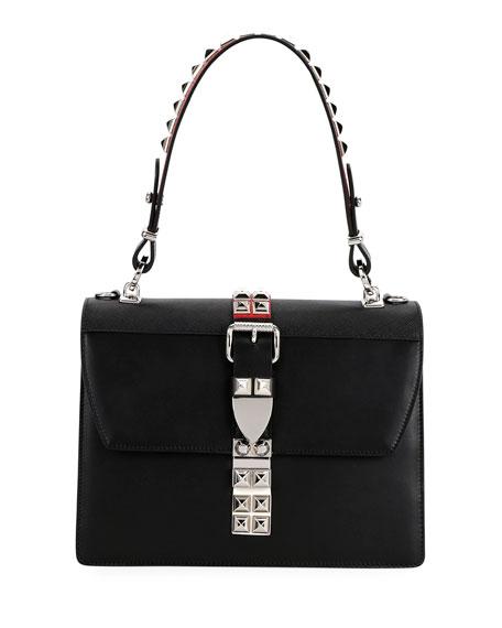 Prada Elektra Top Handle Front-Flap Bag w/ Removable
