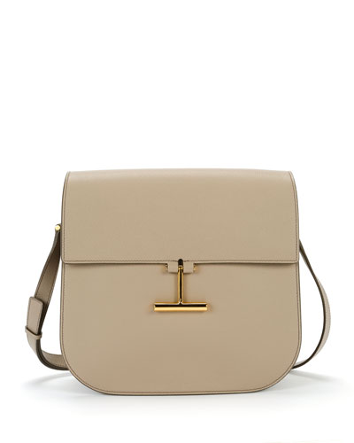 Tara Large Leather Crossbody Bag