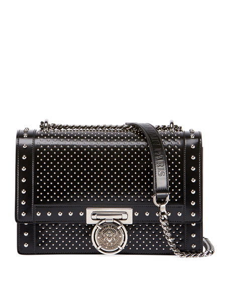 Baby Box Studded Crossbody Bag by Balmain