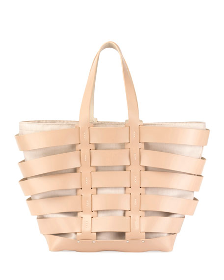 Cage East-West Tote Bag