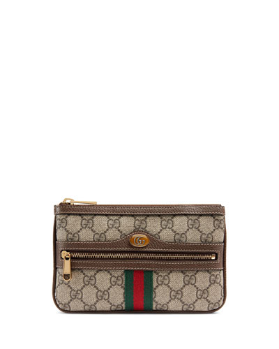 743dfdf1c7e2 Gucci Ophidia Small GG Supreme Pouch Clutch Bag from Neiman Marcus ...
