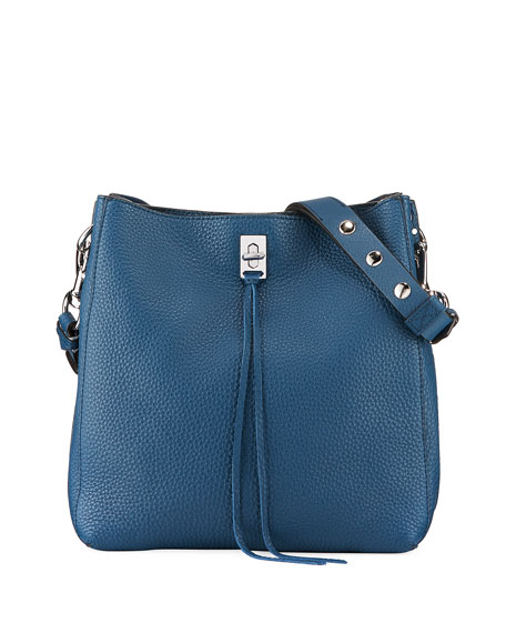 Rebecca Minkoff Darren Pebbled Leather Shoulder Bag