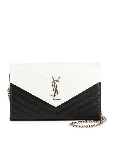 Large Bicolor Wallet-on-Chain