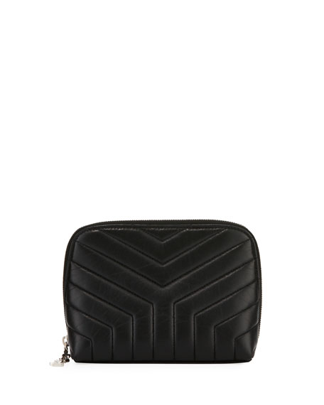 Saint Laurent Loulou Teardrop Small Quilted Cosmetics Bag