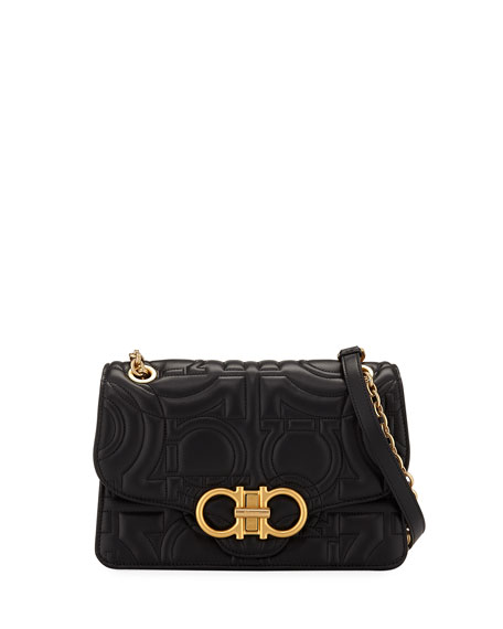 Salvatore Ferragamo Gancio-Quilting Shoulder Bag
