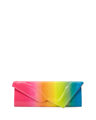 So Kate Baguette Patent Clutch Bag