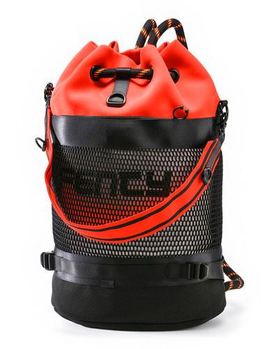 Scuba Duffle Backpack w/ Mesh