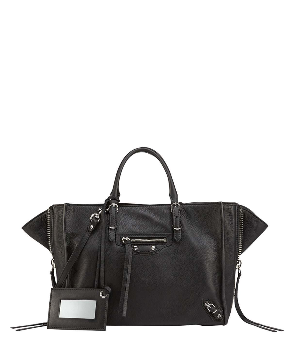 ec203b936c Balenciaga Papier A6 Zip Around Tote Bag