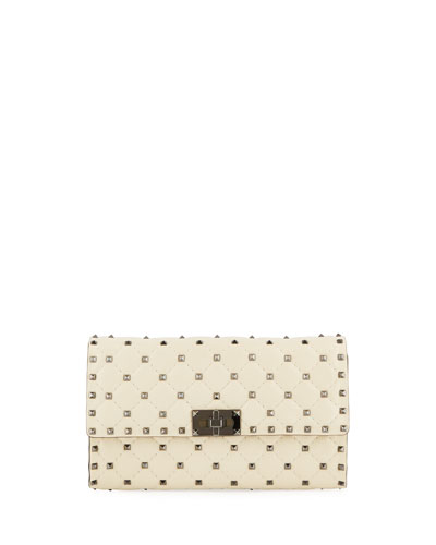 Quilted Rockstud Small Shoulder Bag