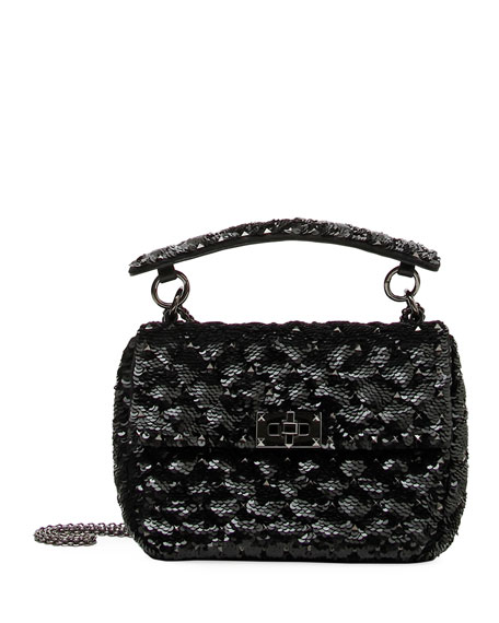 Spike.It Medium Sequin Shoulder Bag