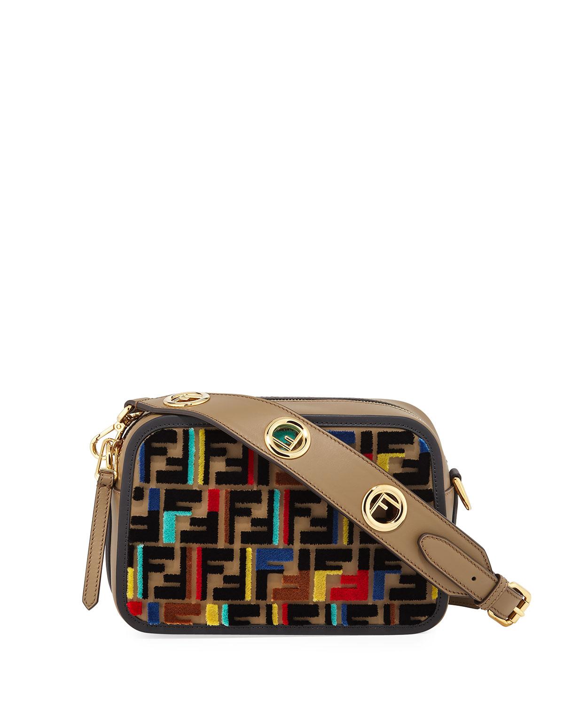 Fendi Cam Calf Century Crossbody Bag   Neiman Marcus 28cd0a4771